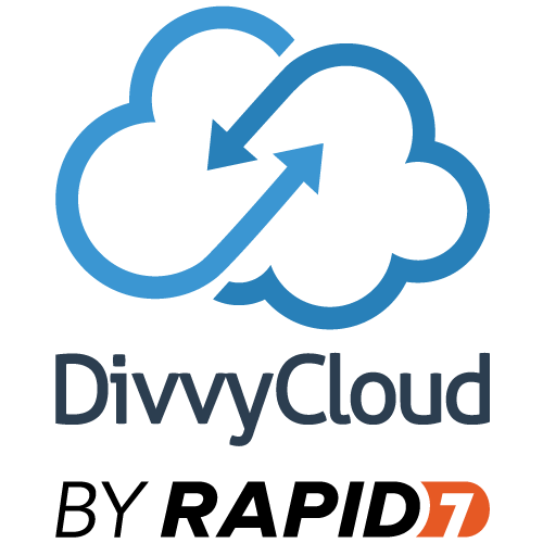 DivvyCloud by Rapid 7 logo