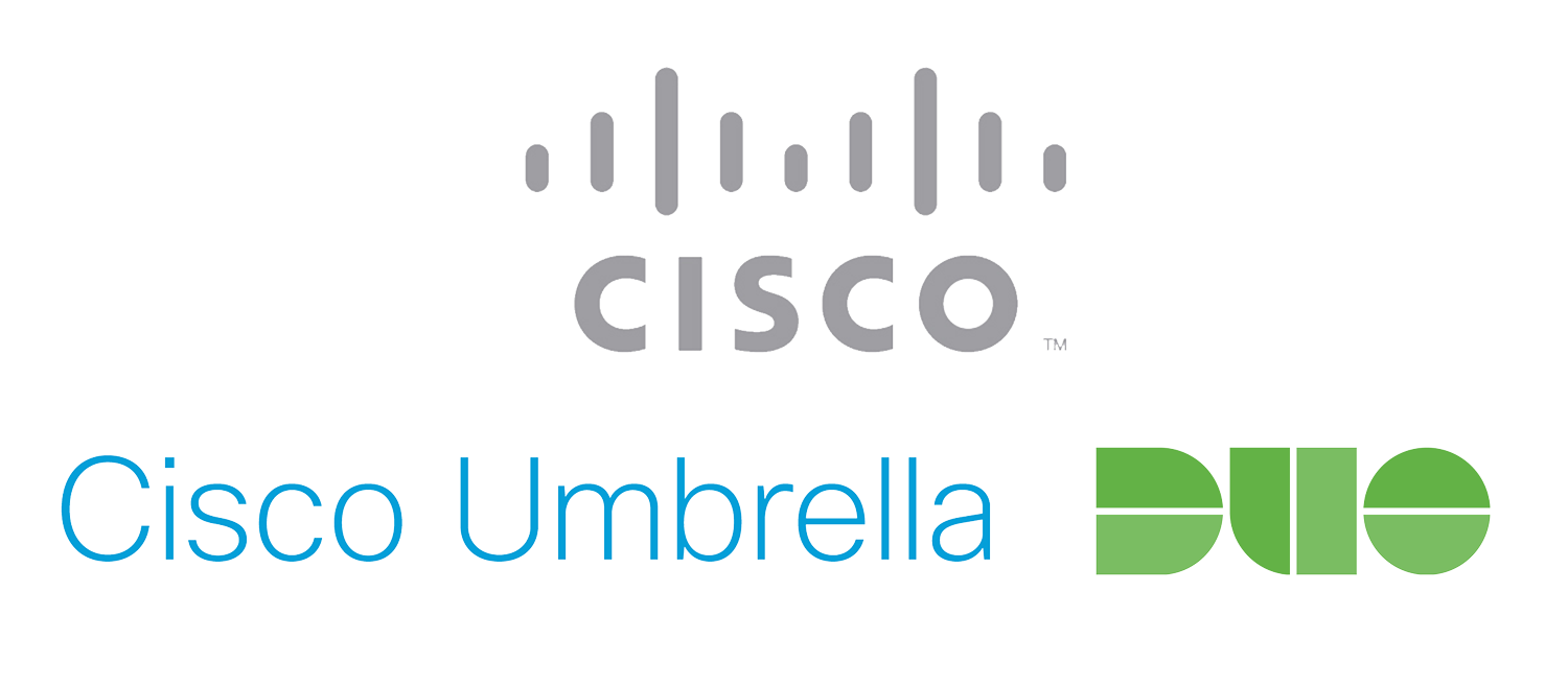 Cisco Umbrella and Duo Security logo